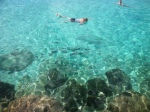 Princess Cays crystal clear waters